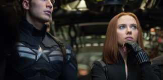 Captain America e Black Widow
