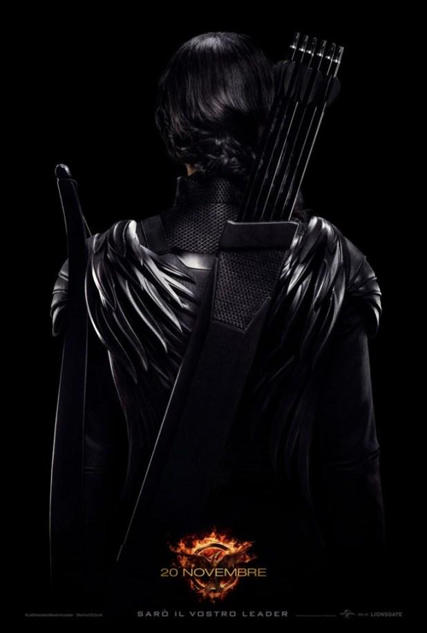 Hunger Games Il Canto della Rivolta Parte 1 poster ita