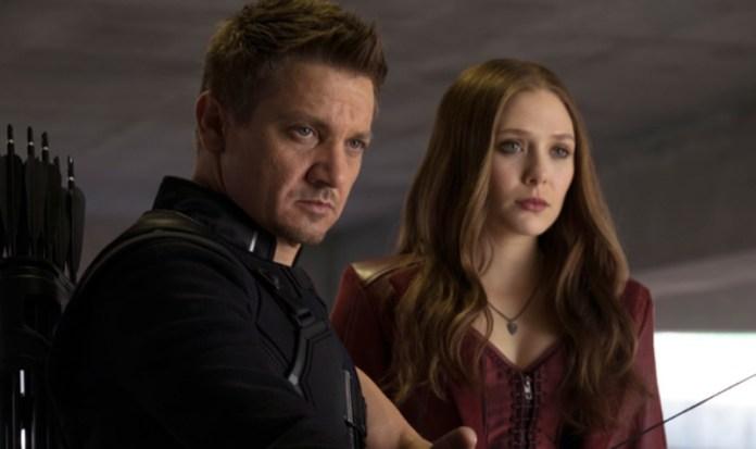 Elizabeth Olsen Jeremy Renner Avengers Infinity war
