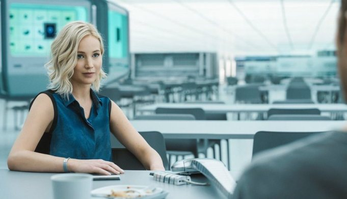 passengers Jennifer Lawrence