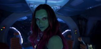 Zoe Saldana Guardiani della Galassia 3 guardiani della galassia vol. 2