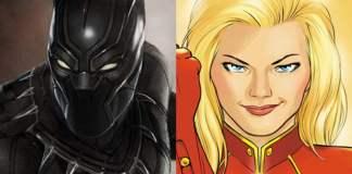 Black Panther e Captain Marvel