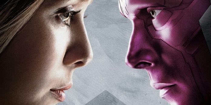 Avengers Infinity War Wanda e Visione