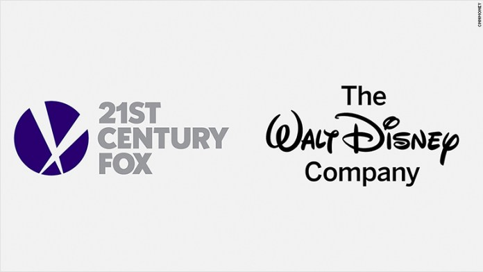 Disney/Fox Salgono le azioni FOX e Disney