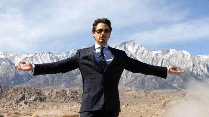 iron robert downey jr.