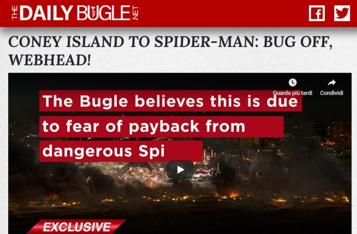 daily bugle spider-man