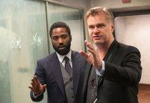 Christopher Nolan Tenet set