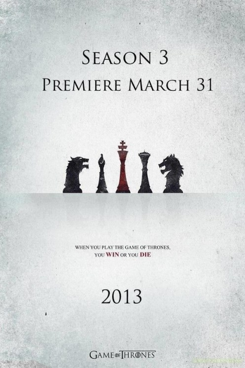 game of thrones stagione 3 poster