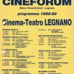 Volantino Stagione 1988-1989
