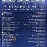 Volantino Stagione 1998-1999
