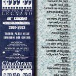Volantino Stagione 2001-2002