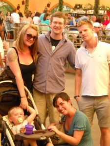 Violante e i suoi amici al Sacramento's Country Fair