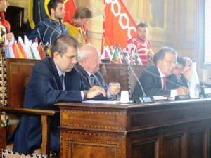 G.Prodi, F.Pandolfi, R.Prodi