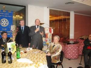 Gianni Salvadori con  P.Angelini, A. Contucci e D, Cinelli