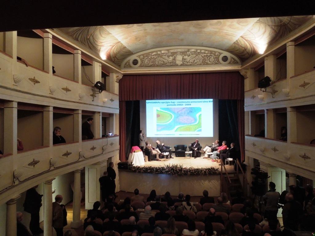 Benvenuto Brunello 2012-Prof Orlandini presenta la vendemmia 2012