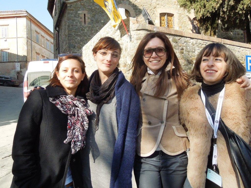Benvenuto Brunello-MontalcinoNews-lo staff femminile