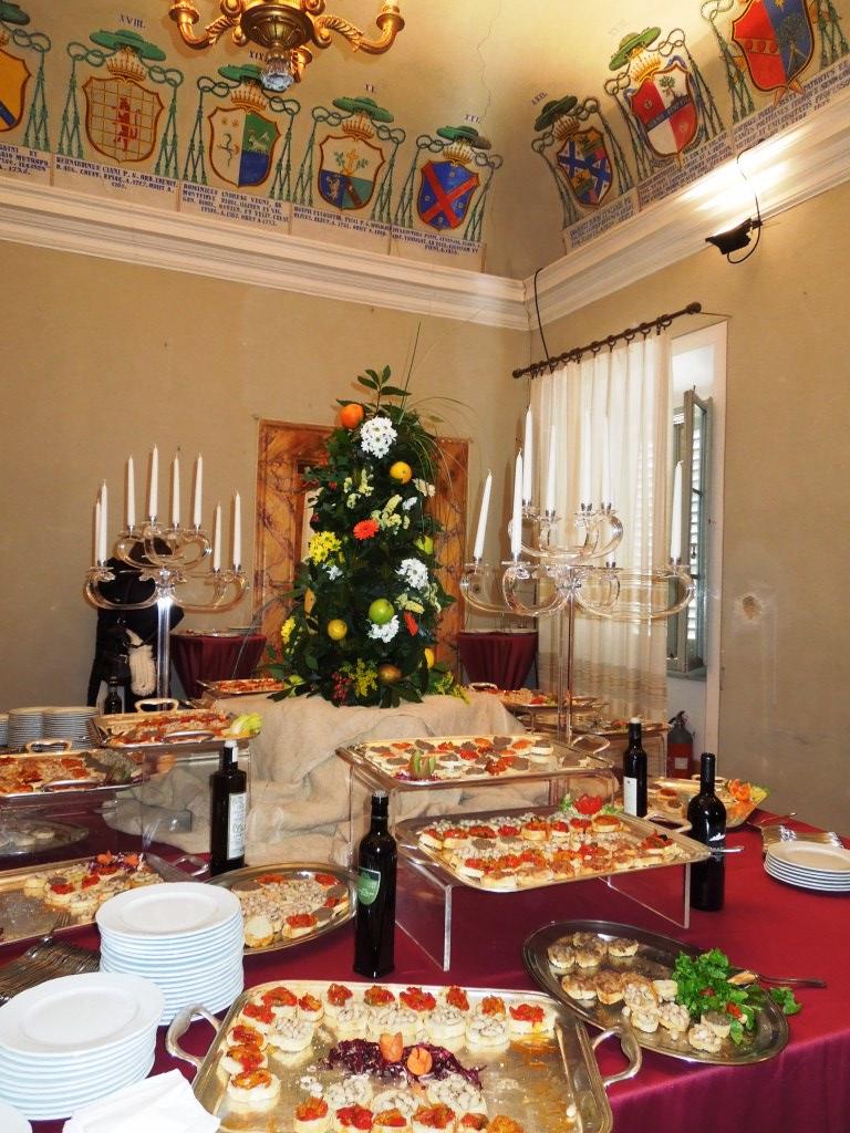 Benvenuto Brunello 2012 - lunch in Palazzo Vescovile