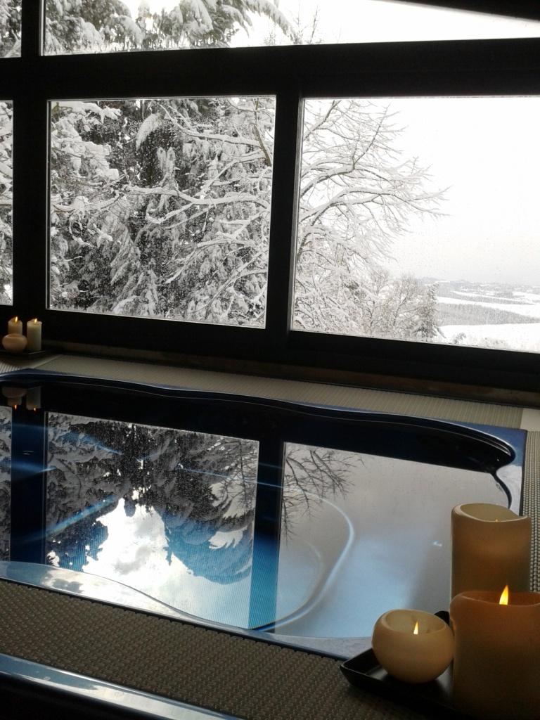 Centro benessere - Fattoria del Colle effetto neve febbraio 2012