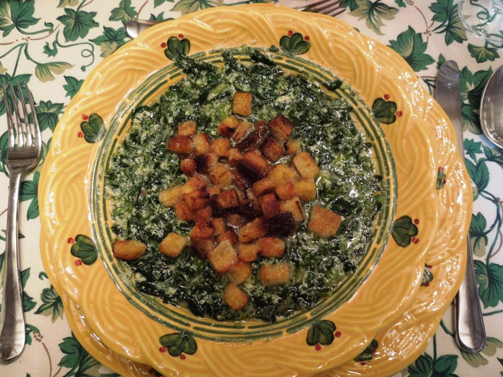 Zuppa pasqualina di Montalcino