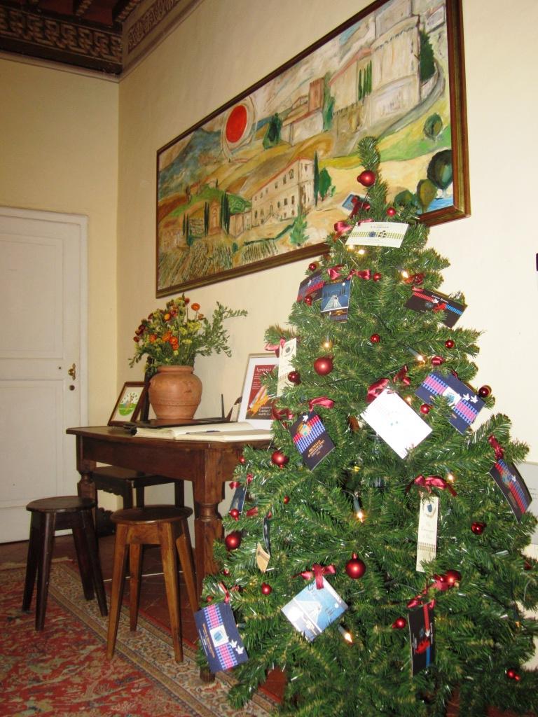 Fattoria del Colle albero di Natale dell'agriturismo