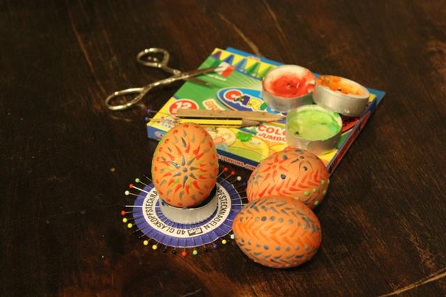 Uova di Pasqua decorazione