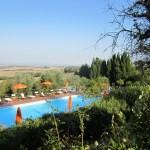 swimming pools at Fattoria del Colle country inn