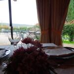 Fattoria del Colle country inn in Tuscany restaurant