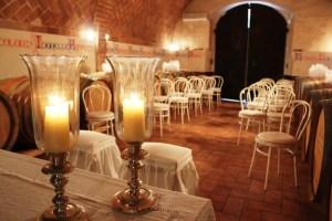 Wedding in the winery Tuscany Fattoria del Colle