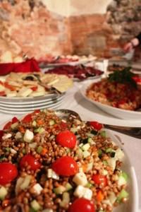 Wedding in the winery - apetizers - Fattoria del Colle