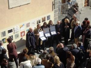 BenvenutoBrunello2012-VincitoriPremioLeccioD'Oro-Sindaco-Ferragamo-Rivella