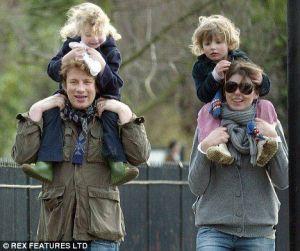 Julia Norton e Jamie Oliver family