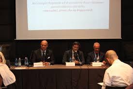Zingarelli, Busi, Bindocci conferenza stampa sul PIT