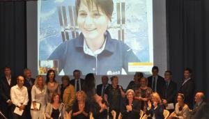 Premio Casato Prime Donne 2010 con_Samantha_Cristoforetti