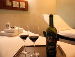 Fattoria-del-Colle-wine and massages
