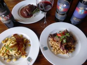 DOCG cuisine at Fattoria del Colle