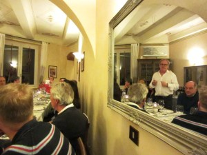 JanesSucking Brunello dinner