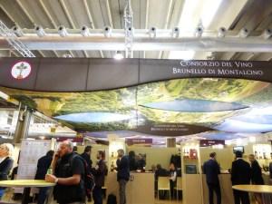 Vinitaly 2015 stand Brunello