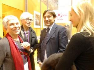 Vinitaly 2015 Vittoria Cisonno Licia Granello Dario Stefano e sua moglie