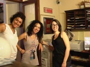 Giulia, Alessia e Consuelo