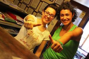 Sara e Giulia Fattoria del Colle