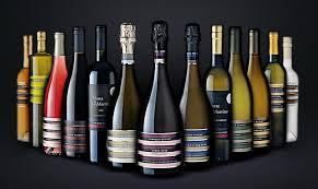 colori delle etichette del vino