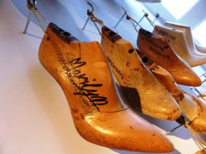 Ferragamo forma del piede di Marylin Monroe