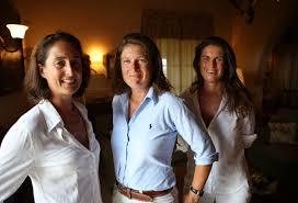 Albiera, Allegra e Alessia Antnori
