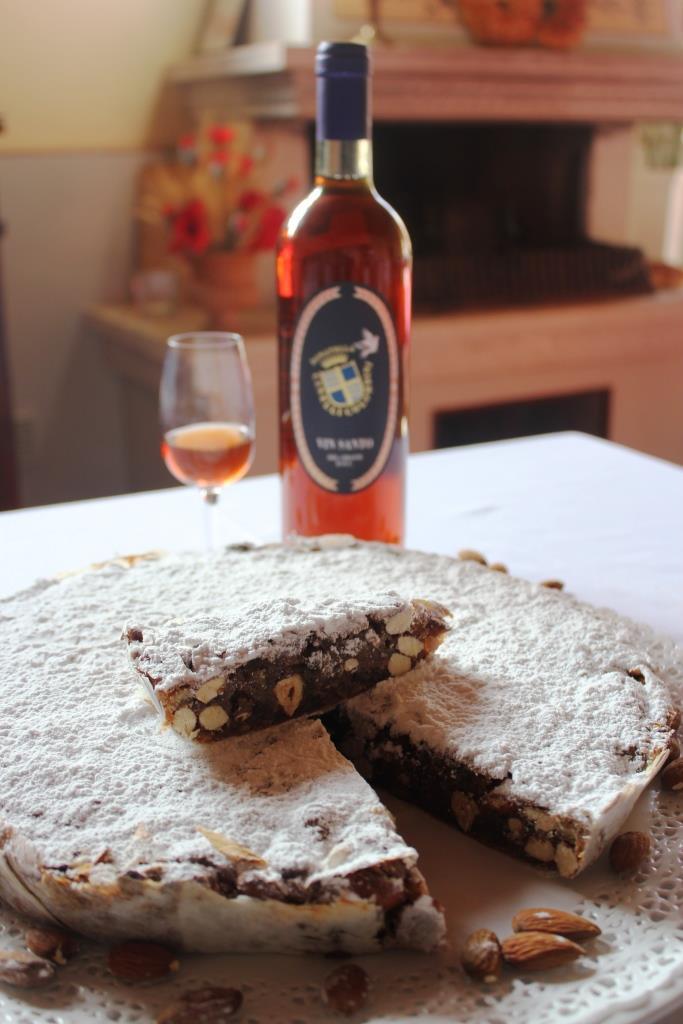 Panforte Margherita e Vin Santo fattoria del Colle