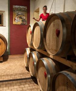 Montalcino Casato Prime Donne, Brunello barrels