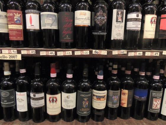 Brunello-a-Firenze-supermercato-e-vino