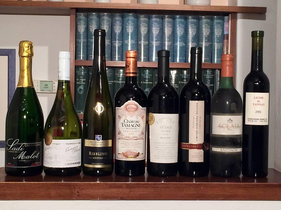 """Momenti """"di vini"""" a casa Pellucci cena con grandi vini di tutto il mondo"""