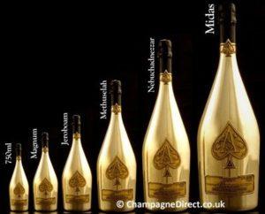 Nomi delle grandi bottiglie di vino