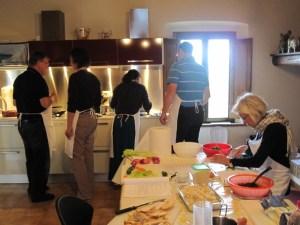 corso di cucina tradizionale toscana con Helle