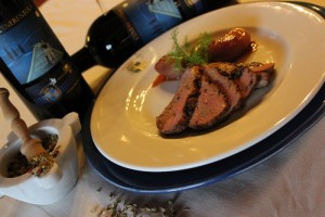 Orcia Cenerentola with Roasted duck breast